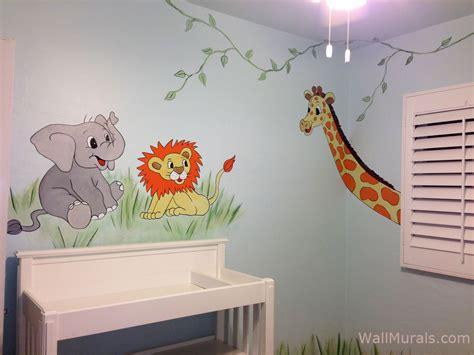 Jungle Wall Murals  Examples Of Jungle Theme Murals