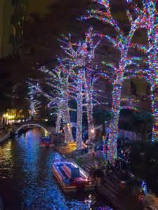 Christmas Riverwalk San Antonio Texas
