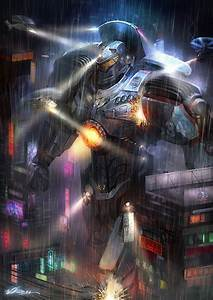 90 days to better pacific rim jaeger artwork mightymega