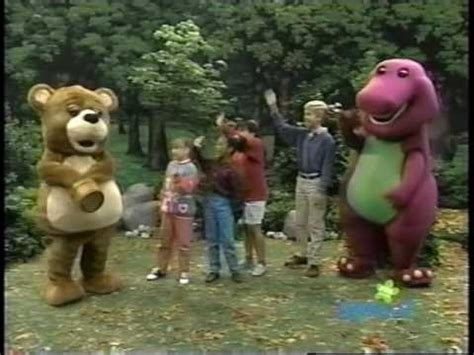 barney friends  hoos   forest youtube