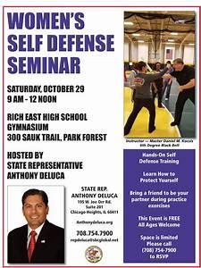 Oct 29 | Women's Self Defense Seminar | Chicago Heights ...