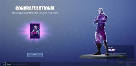 heres     galaxy skin  fortnite