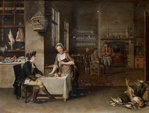 Tavern Interior by John S C Schaak 1762 - The Townsends Blog