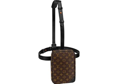 louis vuitton utility side bag monogram brown