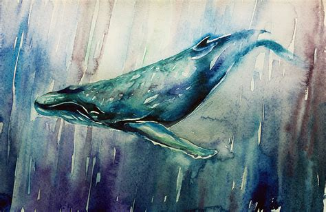 Big Blue Whale By Mariababinceva On Deviantart