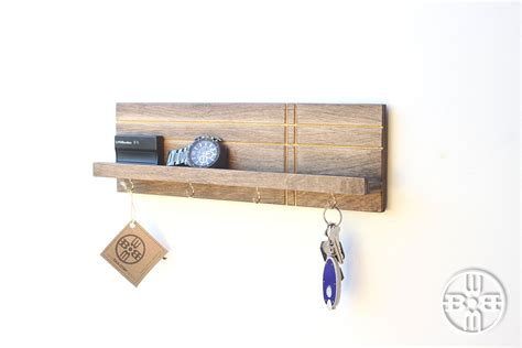 key hook rack key holder for wall entryway organizer key rack gifts for