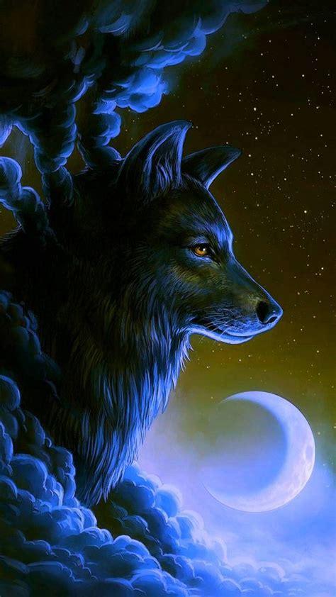 imagens de lobo  colocar como papel de parede