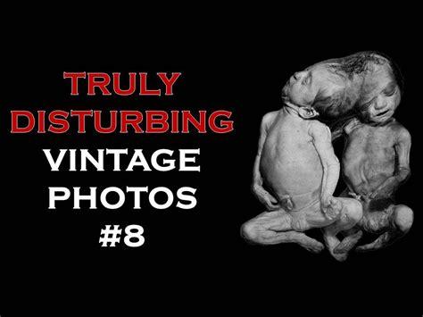 Truly Disturbing Creepy Vintage 8 Youtube