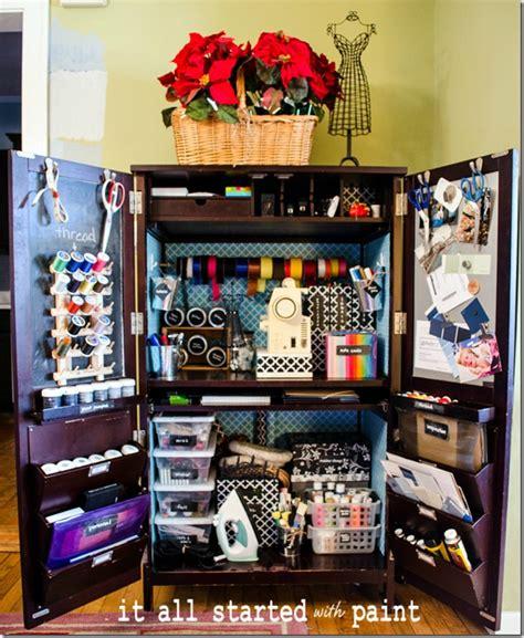diy craft cabinet best 25 craft armoire ideas on craft storage