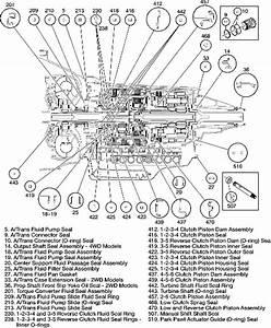 Ford 4r70w Transmission Parts Diagram