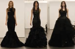 black wedding dresses no more white wedding dresses at vera wang
