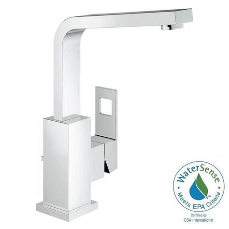 grohe eurocube single single handle bathroom faucet