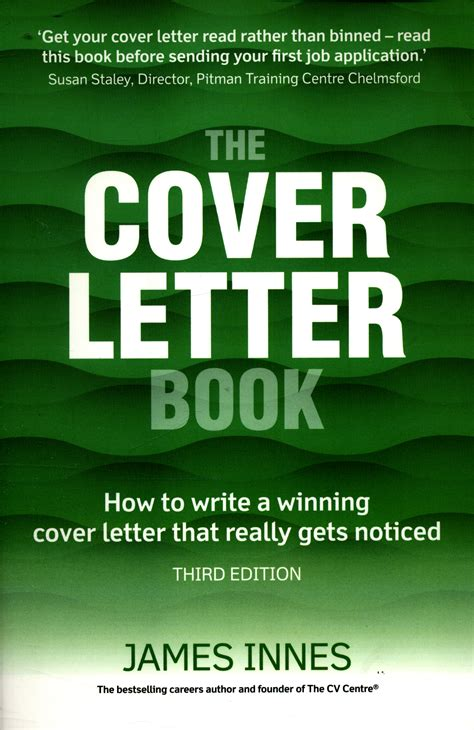 How To Write A Winning Cover Letter by The Cover Letter Book How To Write A Winning Cover