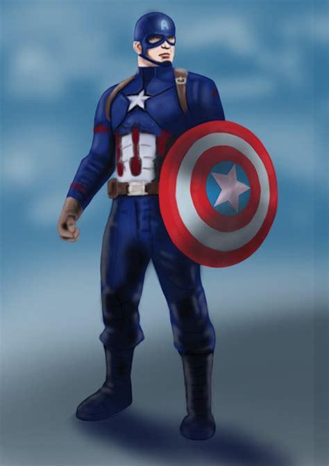 learn   draw captain america  captain america