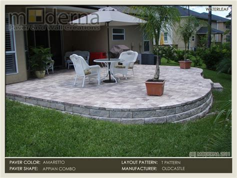 how to build a paver patio on a slope search