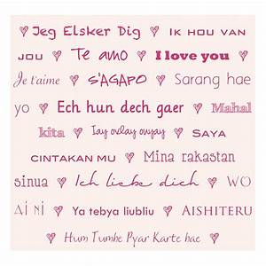 """Forty Weeks: Crafts/DIY: """"I Love You"""" in different languages"""