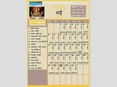 May 2018 Indian Calendar, Hindu Calendar