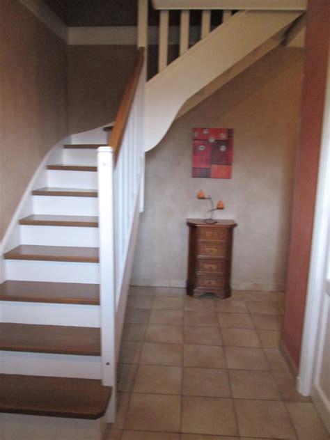escalier peint marches ch 234 ne vieillit moyen murs chaux