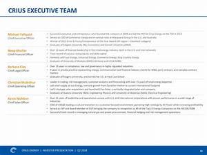 Crius Energy Trust 2018 Q2 - Results - Earnings Call ...