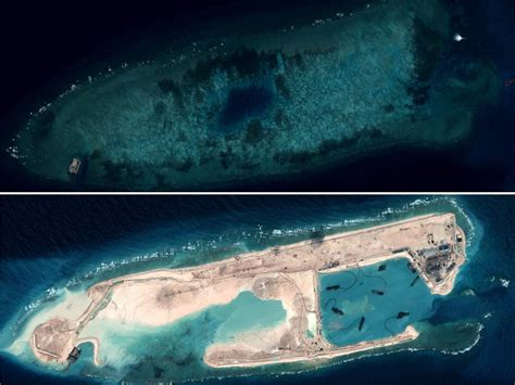 China building artificial islands in the Pacific, stoking