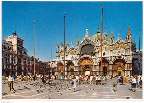 St Marks Square Venice Italy World For Travel