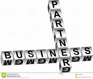 Business Partner Dice Message Stock Photography - Image ...