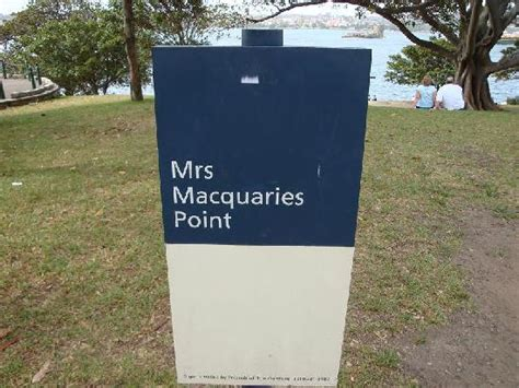 Mrs Macquaries Chair Map by ミセスマッコリーズポイントからの景色 Picture Of Mrs Macquarie S Chair