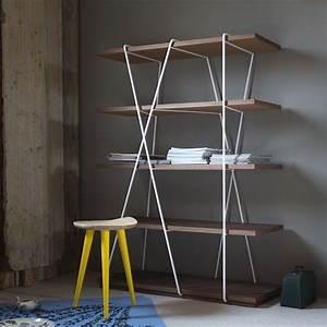 Bücherregal Metall Holz : matassa b cherregal miniforms aus metall und holz sediarreda ~ Sanjose-hotels-ca.com Haus und Dekorationen