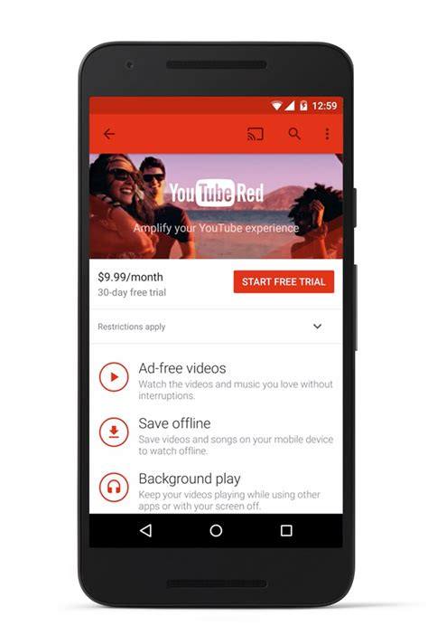 YouTube Unveils New Ad-Free Subscription Service ...
