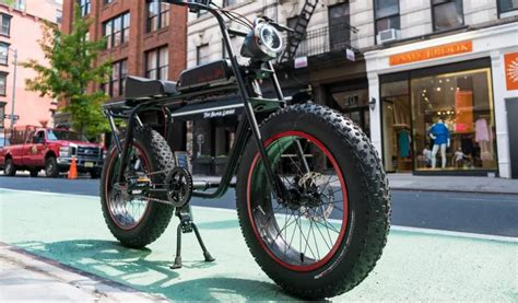 fat tire electric bicycle   ultimate city cruiser gas