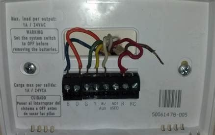 Make Wife Happy Thermostat Wiring Question