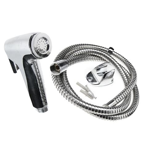 bidet hose uk chrome bidet shattaf douche spray hygienic toilet shower