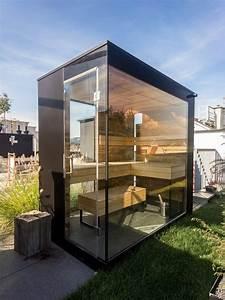 Gartenhaus Mit Glasfront : 135 besten gartenhaus sauna bilder auf pinterest verandas diy garten und haus ideen ~ Sanjose-hotels-ca.com Haus und Dekorationen