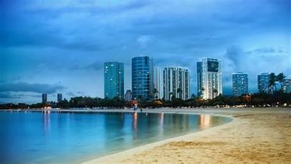 4k Miami Ocean 5k Shore Nature Palms