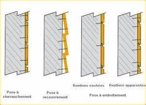 Pose Lambris Horizontal Commencer Haut : poser un bardage ext rieur bois avec un cloueur ~ Premium-room.com Idées de Décoration