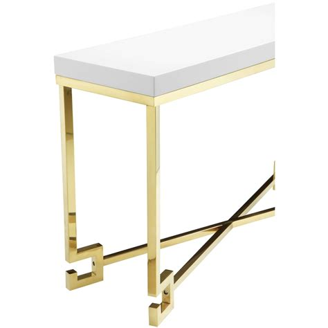 Age Console golden age console table modern furniture brickell