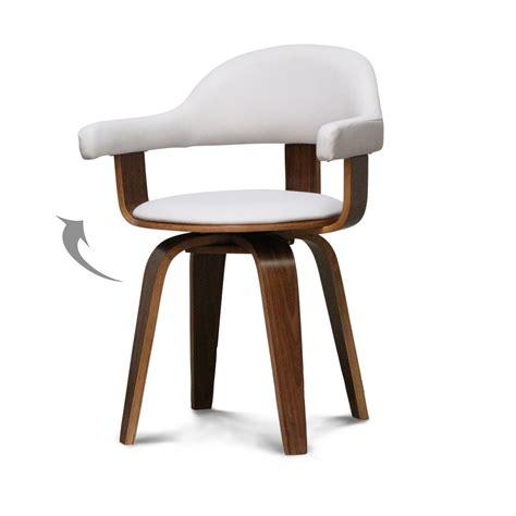 chaise cuir et bois chaise cuir bois