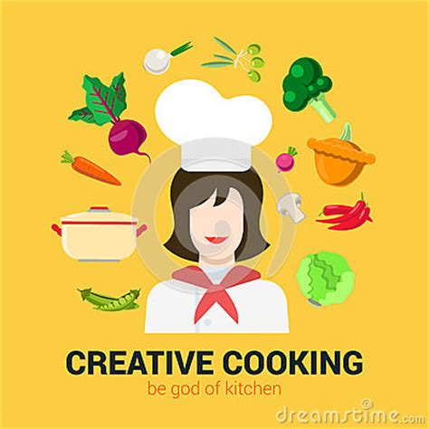 logo chef de cuisine cuisson du concept plat de logo de vecteur chef de