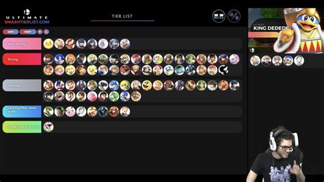 history  ultimate ikes tier placement smashboards