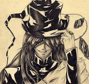 Black Butler Amazing Fanart Of The Undertaker