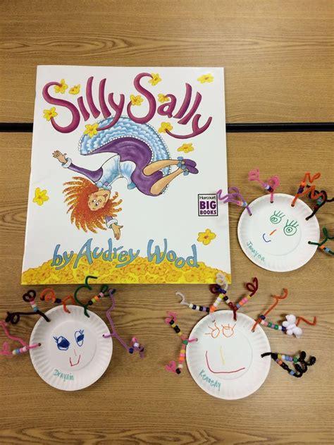 silly sally preschool art project childrens literature