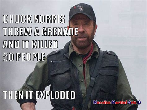 24 Uproariously Funny Chuck Norris Memes