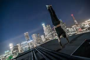 canadian parkour athletes daredevil skyscraper
