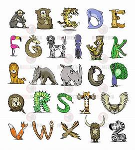 animal shaped font wwwpixsharkcom images galleries With animals with the letter o in their name