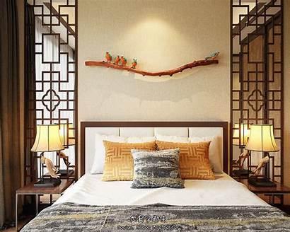 Chinese Decor Bedroom Modern Interiors Interior Traditional