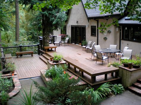 Patio And Deck Design Ideas For Backyard