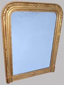 Miroir Ancien Le Bon Coin : beau miroir ancien platre et bois dor poser ~ Teatrodelosmanantiales.com Idées de Décoration