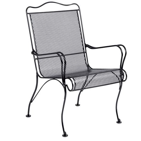 pictured is the tucson high back patio dining chair with