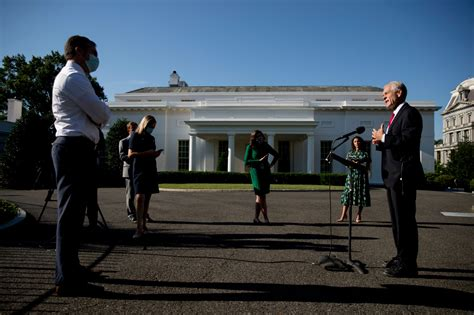 Administration wants West Wing remodel money in virus bill ...