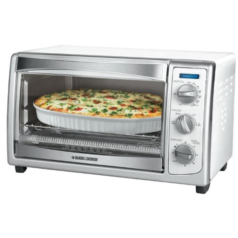 6 Slice Toaster Oven On Sale by On Sale Black Decker Slice Toaster Oven White Get